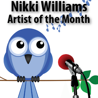 Today: Introducing Nikki Williams, Elvis Duran Artist of the Month
