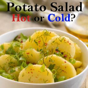 The Chew: Warm Potato Salad Recipe & Jon Secada I'm Never Too Far Away