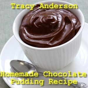 Dr Oz Tracy Anderson Chocolate Pudding & Turkey Spinach Crumble Recipe