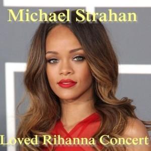 Live!: Michael Strahan at a Rihanna Concert & Psy, Live!'s Viral Video