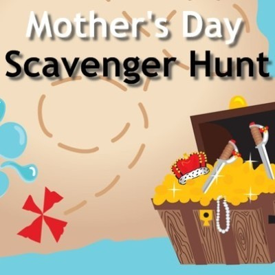 The Talk: Mother's Day Scavenger Hunt & Creating Mom-eries