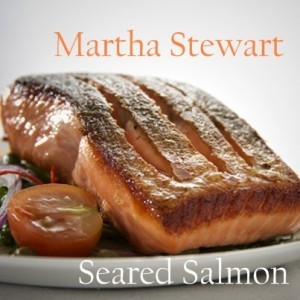 Today Show: Martha Stewart Herb-Filled Omelet & Seared Salmon Recipe