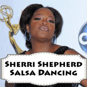 The View's Year of The Viewer: Sherri Shepherd Salsa Dancing Lessons