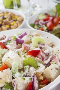 Dr. Oz shared his method for making potato salad a little healthier: swap out the mayo and replace it with Greek yogurt and Dijon mustard. (travellight / Shutterstock.com)