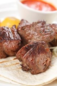 The Chew: Beef Tortilla With Chimichurri Recipe & Seared Porterhouse
