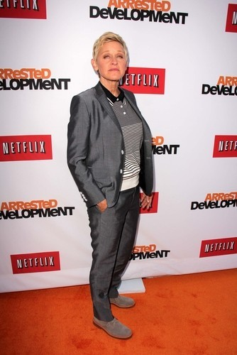 """Ellen DeGeneres talked to rocker and actor Miyavi, who performed his song 'Let Go"""" and talked about his role in the new film Unbroken. (s_bukley / Shutterstock.com)"""