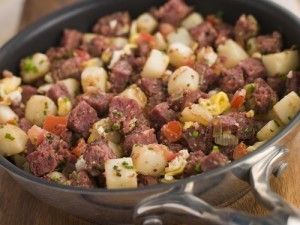 The Chew: Plantain Beef Hash Recipe & Girl's Night Snack Ideas