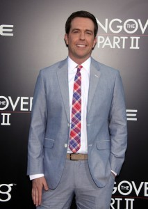 Ellen: Ed Helms The Hangover 3 Review & Soldier Gets a Skype Call