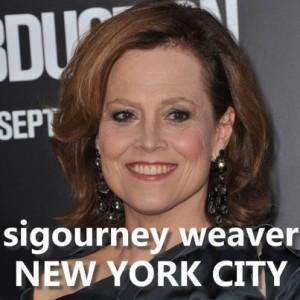 The Talk In New York City: Sigourney Weaver & Summer Essentials