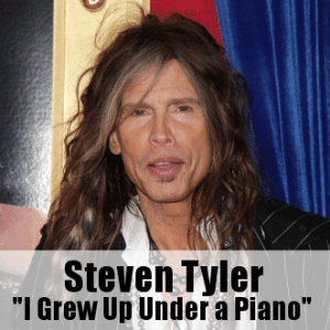 Kelly & Michael: Steven Tyler Finds Love of Music Raised Under a Piano