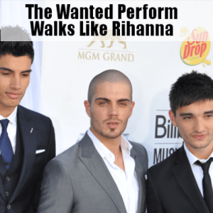 Kelly & Michael: The Wanted Perform Walks Like Rihanna & Travel Trivia
