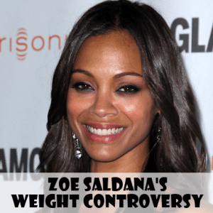 Good Morning America: Allure Prints Zoe Saldana's Weight On Cover