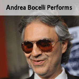 Today Show: Andrea Bocelli Performs Perfidia & Passione Review