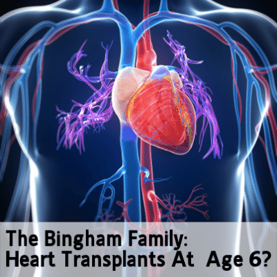 Today Show: The Bingham Family & Heart Transplant At Age Six