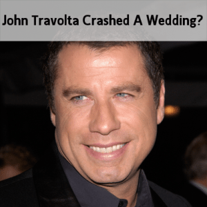 Today: John Travolta Crashes A Wedding & Molasses Grilled Flank Steak