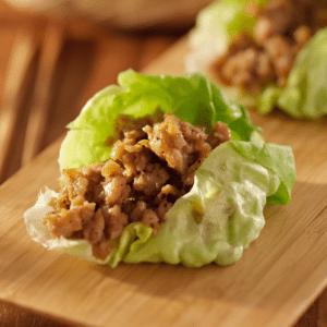 The Chew: Chrissy Teigen's Chicken Lettuce Cups Recipe With Salsa