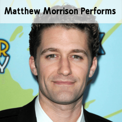 Today Show: Matthew Morrison Performs & Where It All Began Review