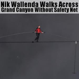 Today Show: Nik Wallenda Grand Canyon Walk & Balance Review