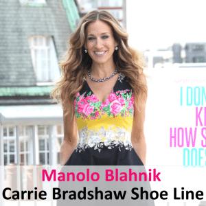 GMA: Sarah Jessica Parker Manolo Blahnik Shoe Line & Kinky Boots Wins