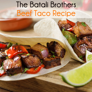 GMA: The Batali Brothers Beef Taco Recipe & Cookbook Review