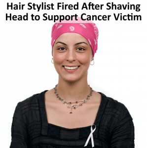 Today Show: Hair Stylist Fired After Shaving Head to Support Sister