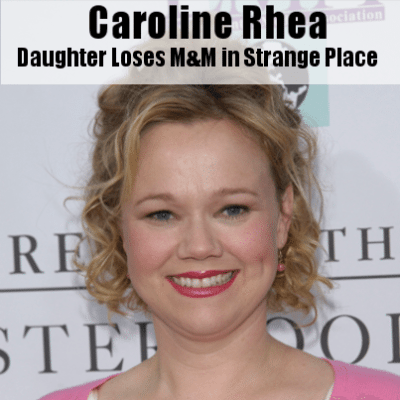 Kelly & Michael: Caroline Rhea's Daughter Loses an M&M Inside Her Body
