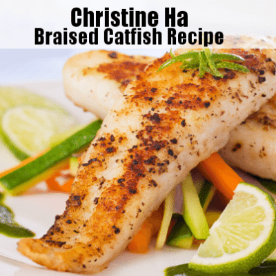 The Drs: Christine Ha Braised Catfish Recipe & Designer Drug Smiles
