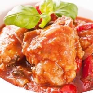 Rachael Ray Spicy Chicken Cacciatore Recipe & David Duchovny Advice