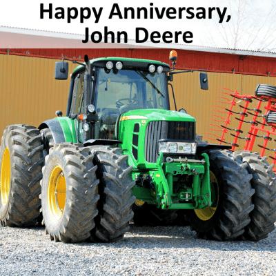 Ellen: John Deere Tractor Anniversary & Photobombing Butt Picture