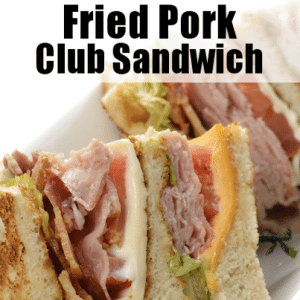 The Chew: Michael Symon's Fried Pork Club Recipe & Oven Dried Tomatoes