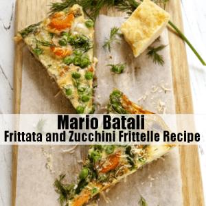 The Chew: Mario Batali Frittata & Zucchini Frittelle Breakfast Recipe