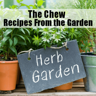 The Chew: Chef Curtis Stone Co-Hosts & Recipes Straight from a Garden