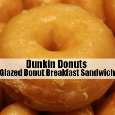 Kelly & Michael: Dunkin Donuts Glazed Donut Breakfast Sandwich Review