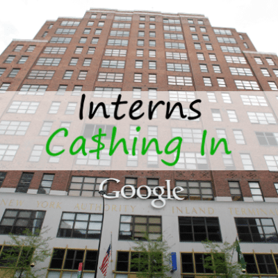 Today: Google Intern Salary, 2013 Interest Rates & Flying Bicycle