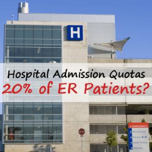 60 Minutes: Health Management Associates & Hospital Admission Quotas