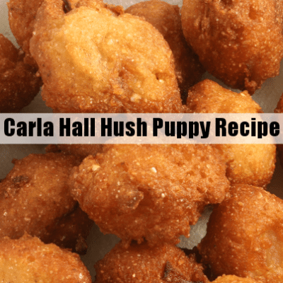 The Chew Carla Hall Hush Puppies Recipe & Natural Element Canvas Craft