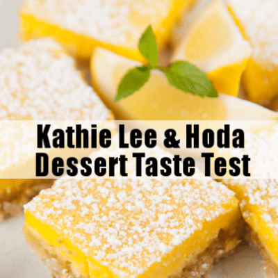 KLG & Hoda: Great Big World This is the New Year & Dessert Taste Test
