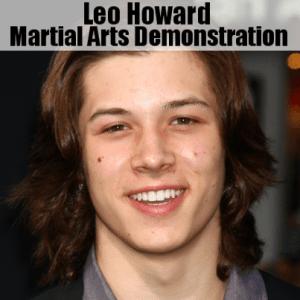 Kelly & Michael: Leo Howard Martial Arts Demo & Reason to Start Karate