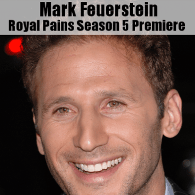 Kelly & Michael: Mark Feuerstein Royal Pains Season 5 Premiere Episode