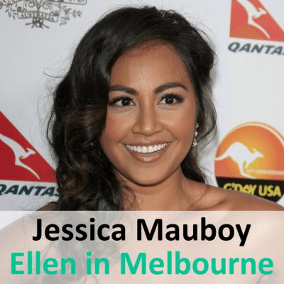 Ellen in Melbourne: Jessica Mauboy & Portia de Rossi's Grammar School