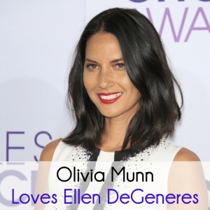 Olivia Munn Geeks Out For Ellen & Portia, Anthony Naylor & Cyrus Dance