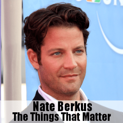 Dr Oz: Nate Berkus The Things That Matter & Lead Contaminated Water
