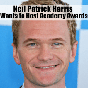 Kelly & Michael: Neil Patrick Harris Wants to Host Academy Awards