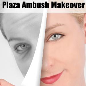 KLG & Hoda Plaza Ambush Makeover: Gail Pace Maggy London Black Dress