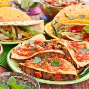 Rachael Ray Chipotle Sweet Potato & Chorizo Quesadillas Recipe