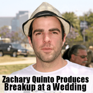 The View: Zachary Quinto Breakup at a Wedding Film & Accepted as Spock