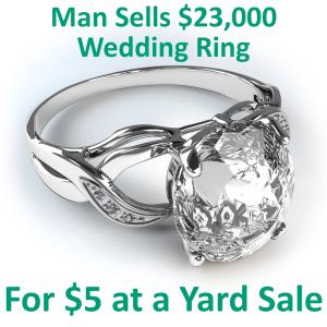 GMA: Man Sells $23,000 Ring at Yard Sale & Toddler Long Hair Trend