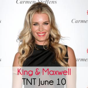 Kelly & Michael: Rebecca Romijn Lake Ontario Fall & TNT King & Maxwell