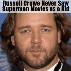 Kelly & Michael: Russell Crowe Hit by Friendly Fire from Baby Superman