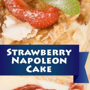 The Chew: Carla Hall's Strawberry Napoleon Recipe & Vanilla Cream